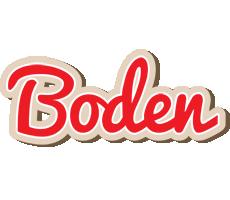 Boden chocolate logo