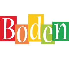 Boden colors logo