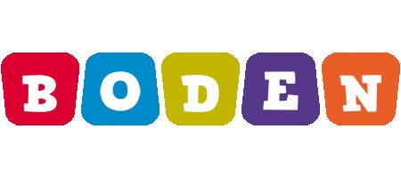 Boden daycare logo