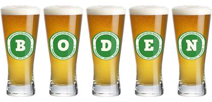 Boden lager logo