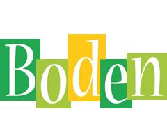 Boden lemonade logo