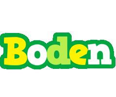 Boden soccer logo