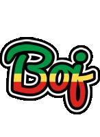 Boj african logo