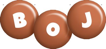 Boj candy-brown logo