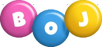 Boj candy logo