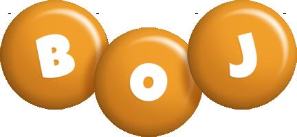 Boj candy-orange logo