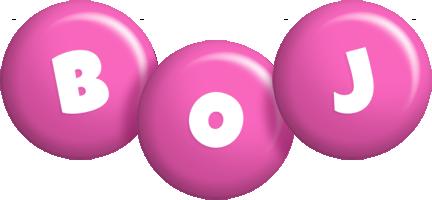 Boj candy-pink logo
