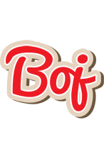 Boj chocolate logo