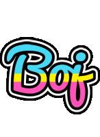 Boj circus logo