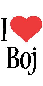 Boj i-love logo
