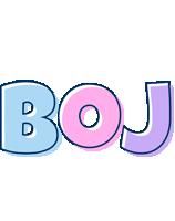 Boj pastel logo