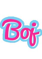 Boj popstar logo