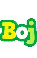 Boj soccer logo