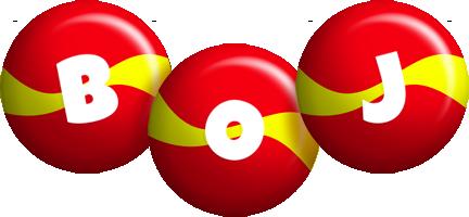 Boj spain logo