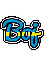 Boj sweden logo