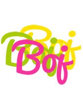 Boj sweets logo