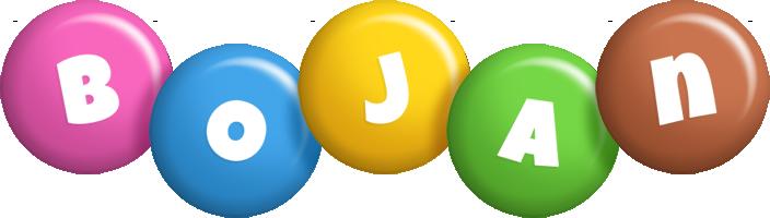 Bojan candy logo