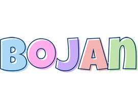 Bojan pastel logo