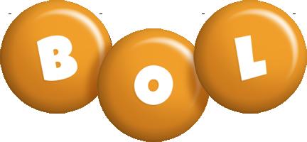 Bol candy-orange logo