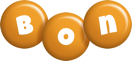 Bon candy-orange logo