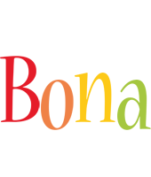 Bona birthday logo