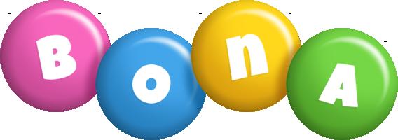 Bona candy logo