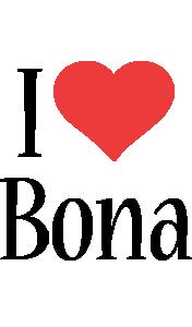 Bona i-love logo