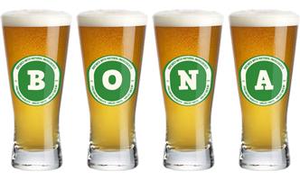 Bona lager logo