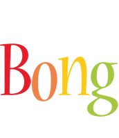 Bong birthday logo