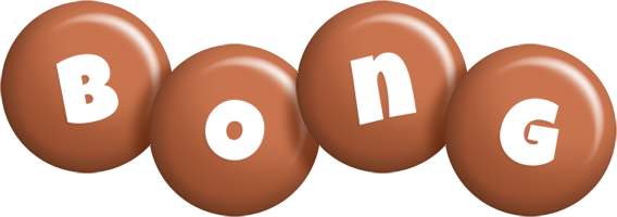 Bong candy-brown logo