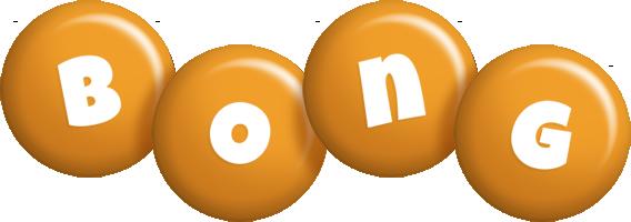 Bong candy-orange logo