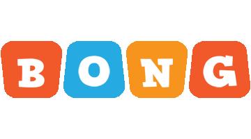 Bong comics logo