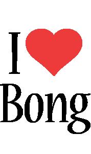 Bong i-love logo