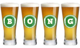 Bong lager logo