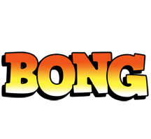 Bong sunset logo