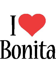 Bonita i-love logo