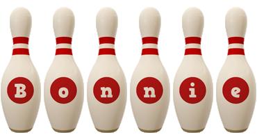 Bonnie bowling-pin logo