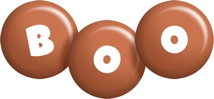 Boo candy-brown logo