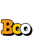 Boo cartoon logo