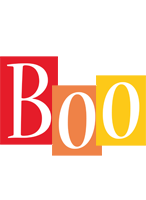 Boo colors logo
