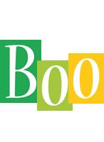 Boo lemonade logo