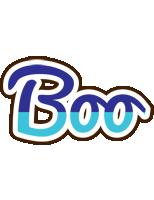 Boo raining logo