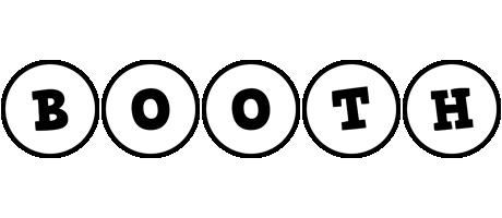 Booth handy logo