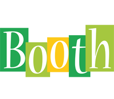 Booth lemonade logo
