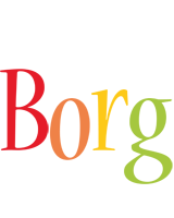 Borg birthday logo