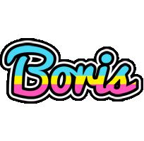 Boris circus logo