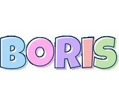Boris pastel logo