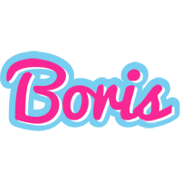 Boris popstar logo