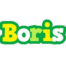 Boris soccer logo