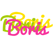 Boris sweets logo